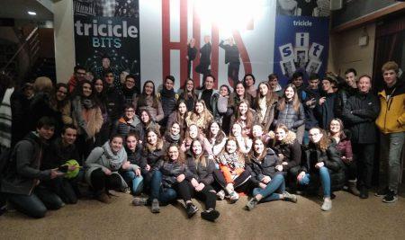 Comunicació, memòria històrica i teatre amb l'alumnat de batxillerat