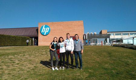 Participació a les HP Code Wars de Sant Cugat del Vallès
